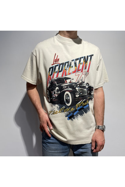 Feel The Heat T-Shirt - Vintage White