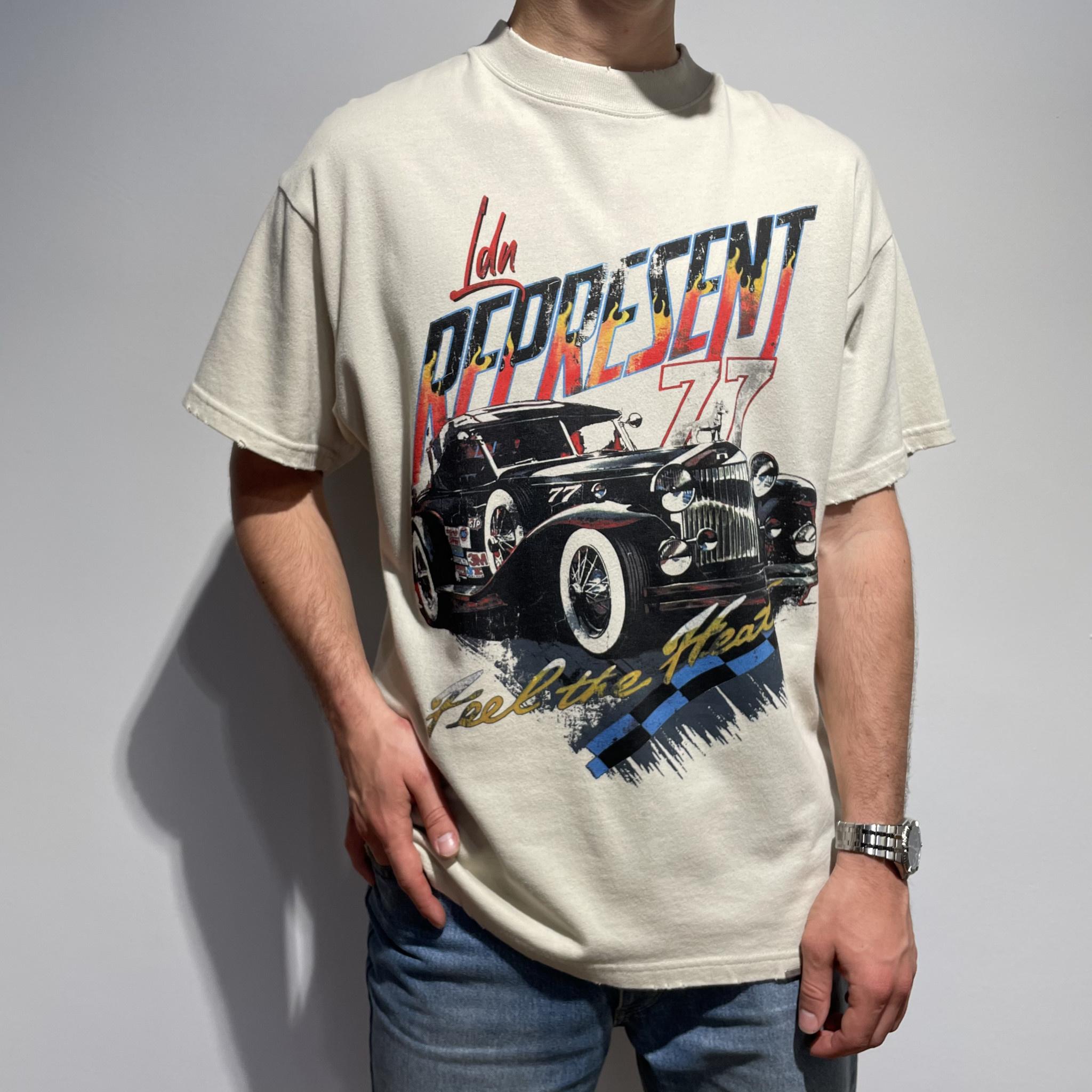 Feel The Heat T-Shirt - Vintage White-1