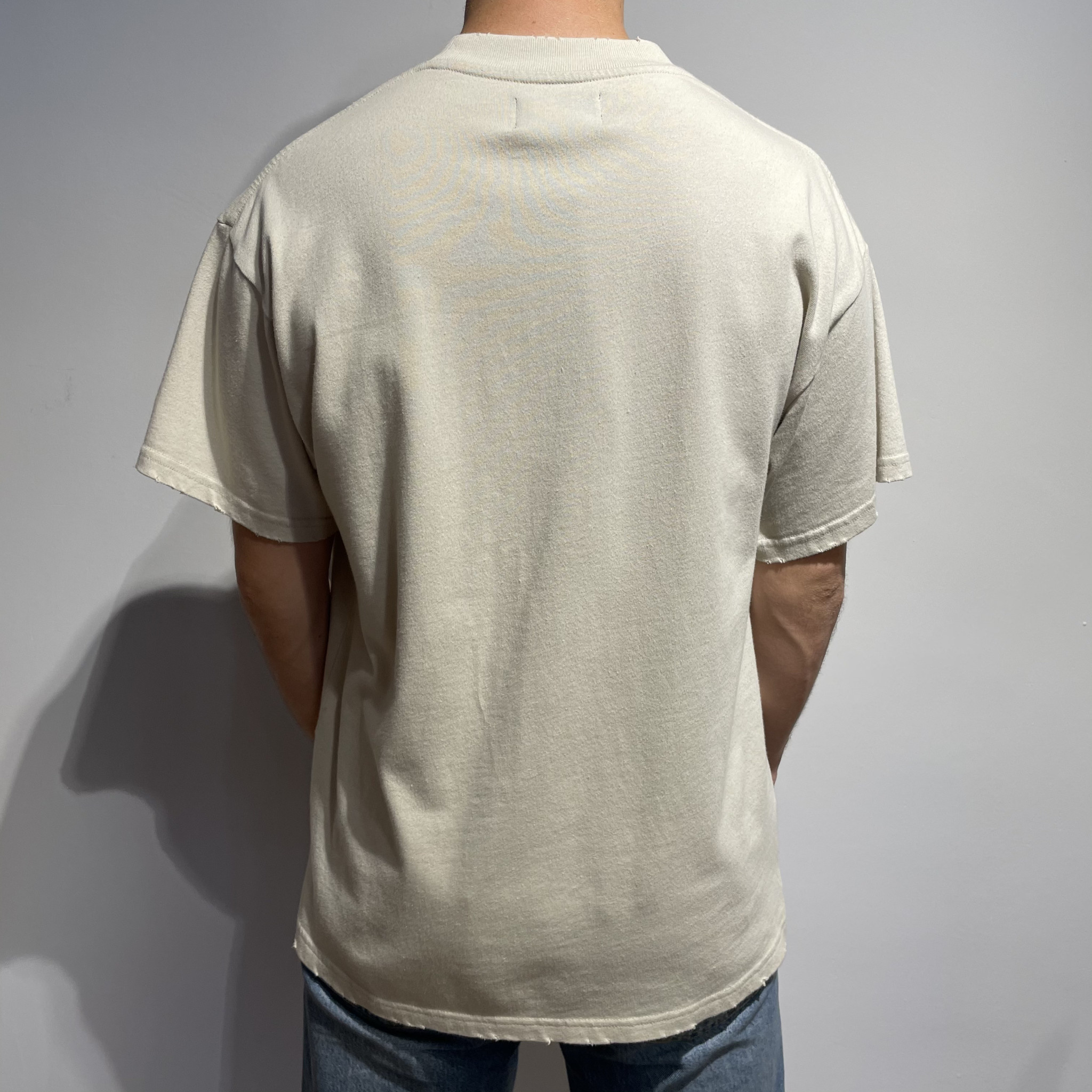 Feel The Heat T-Shirt - Vintage White-2