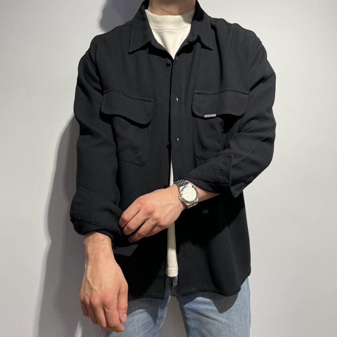 Overshirt - Black-1