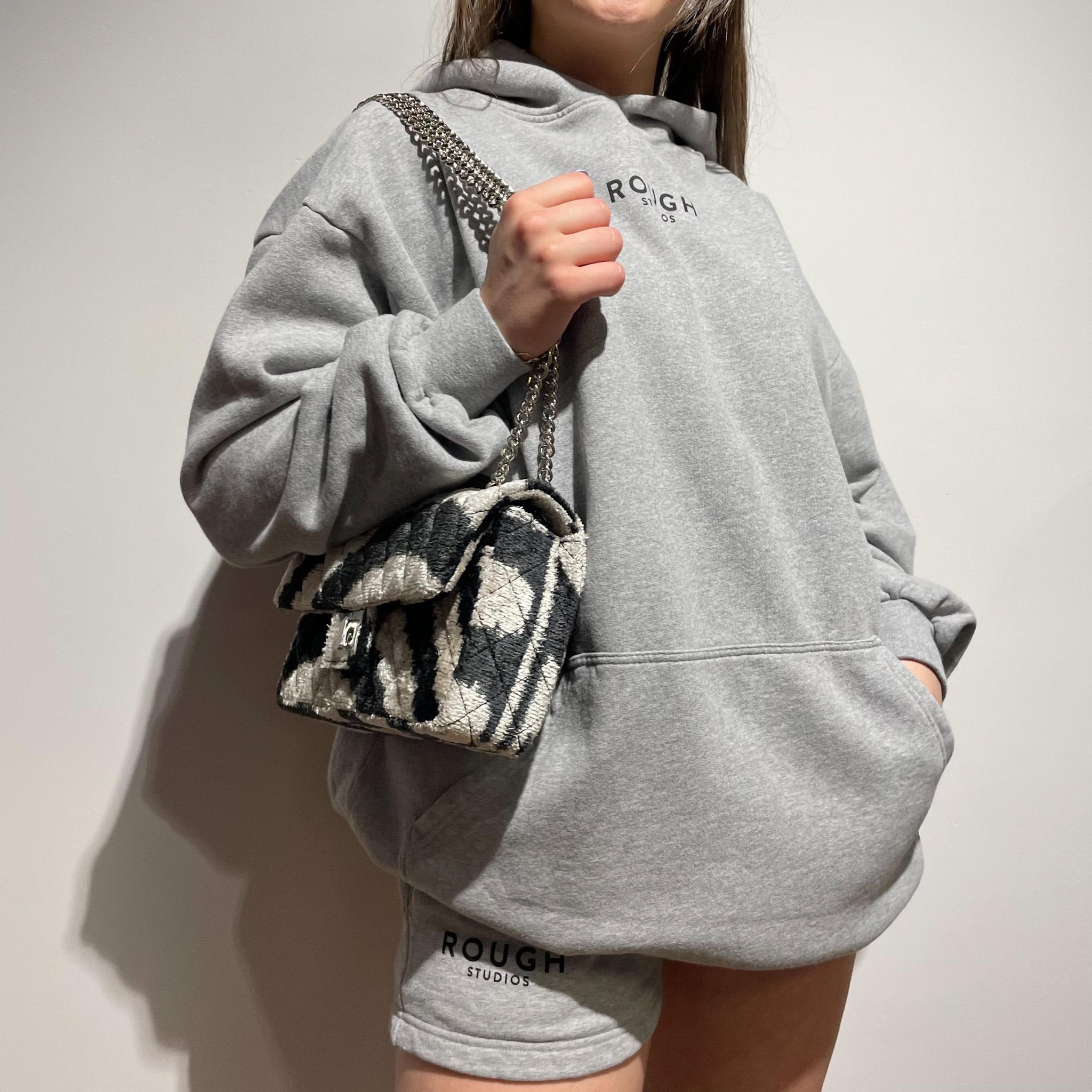 Sissel Hoodie Dress - Grey-2