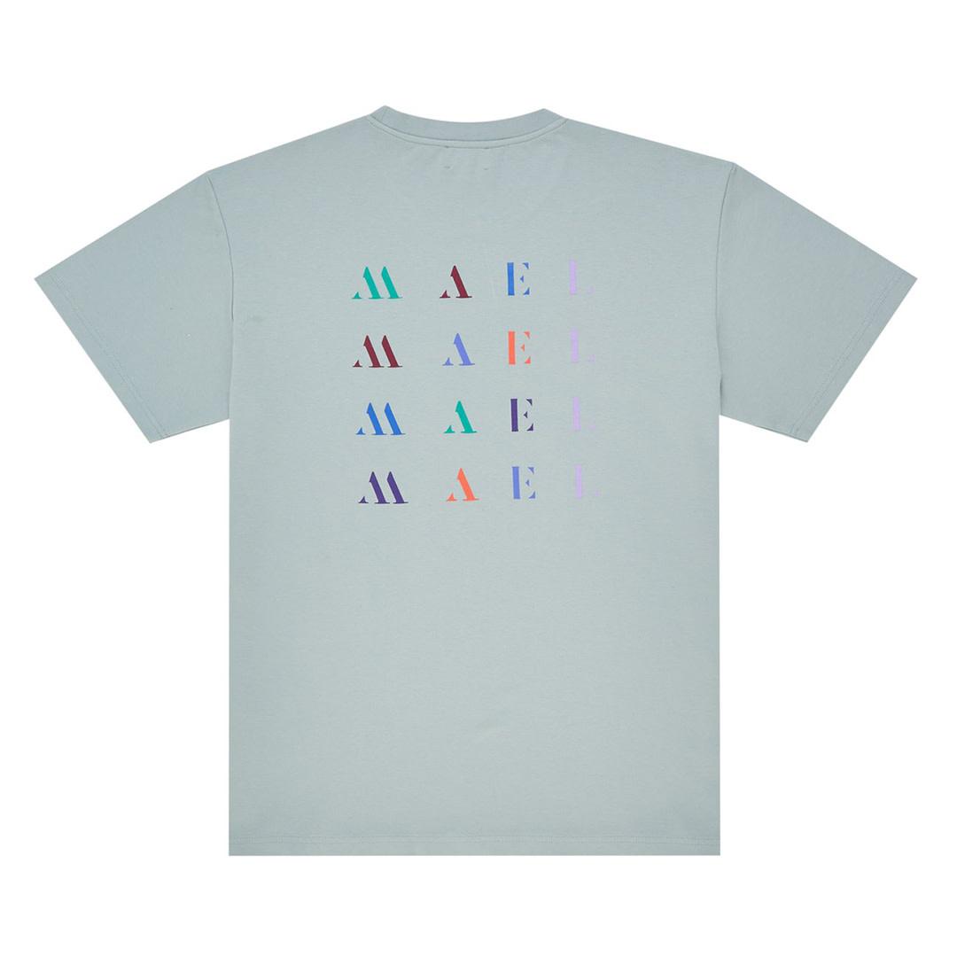 Back Logo T-shirt - Baby Blue-1