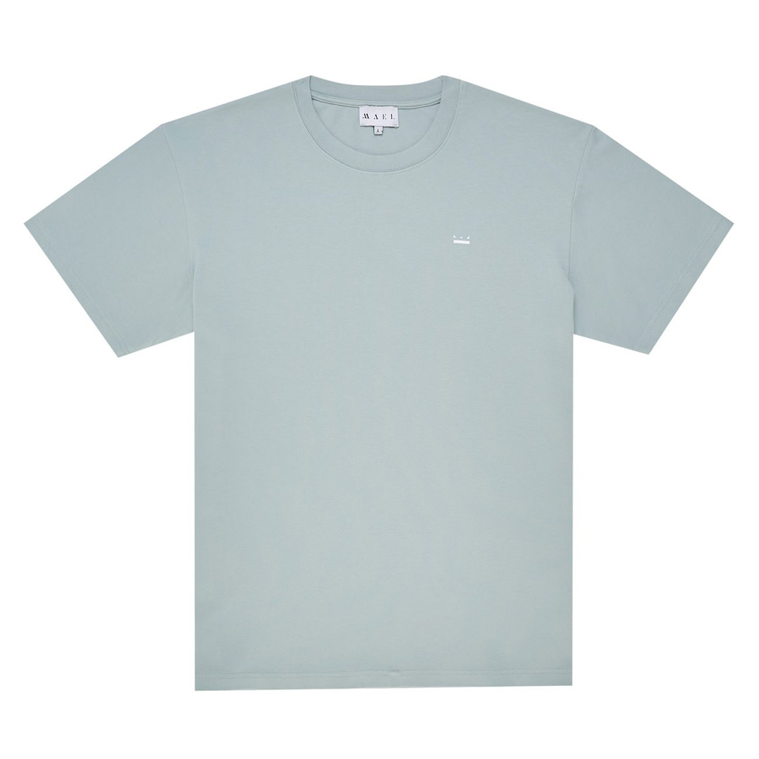 Back Logo T-shirt - Baby Blue-2