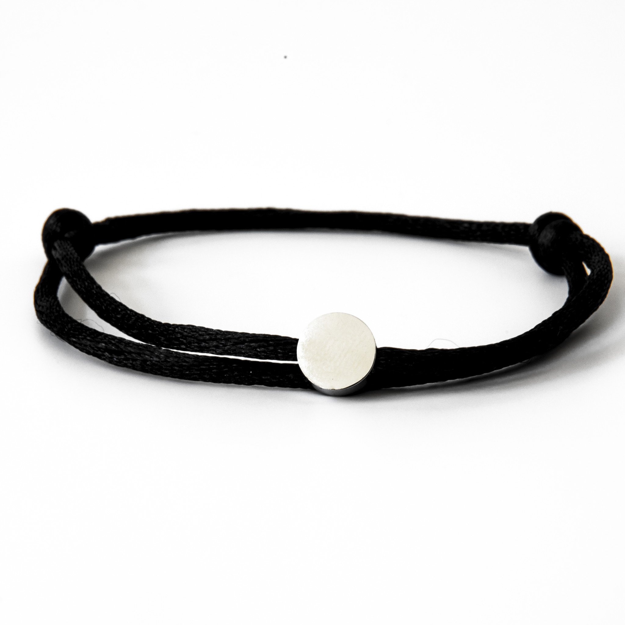 Neon Black Circle Silver-1