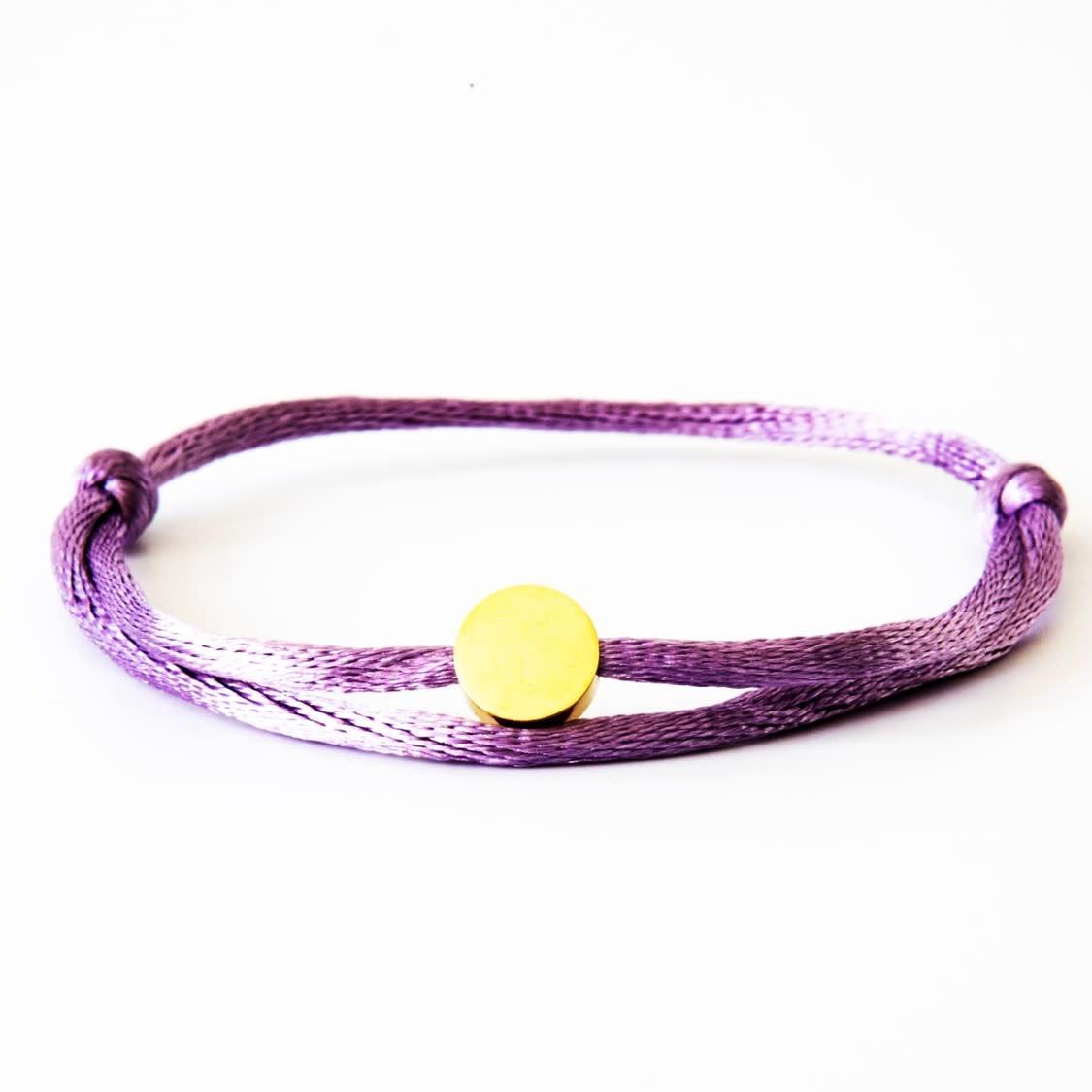 Neon Lila Circle Gold-1