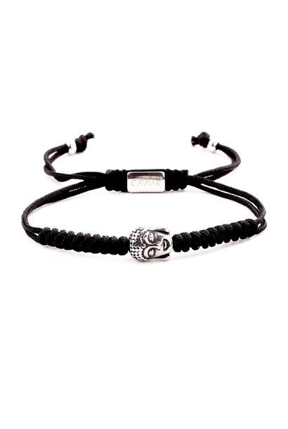 Buddha Black Silver