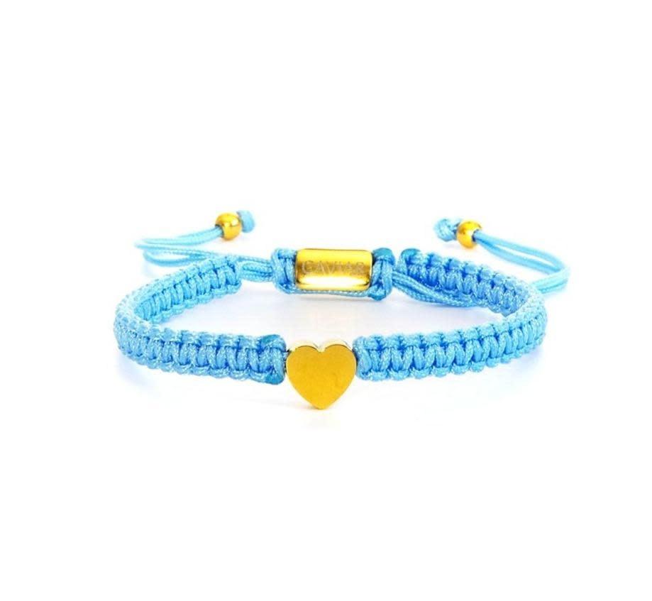 Heart Blue Gold-1