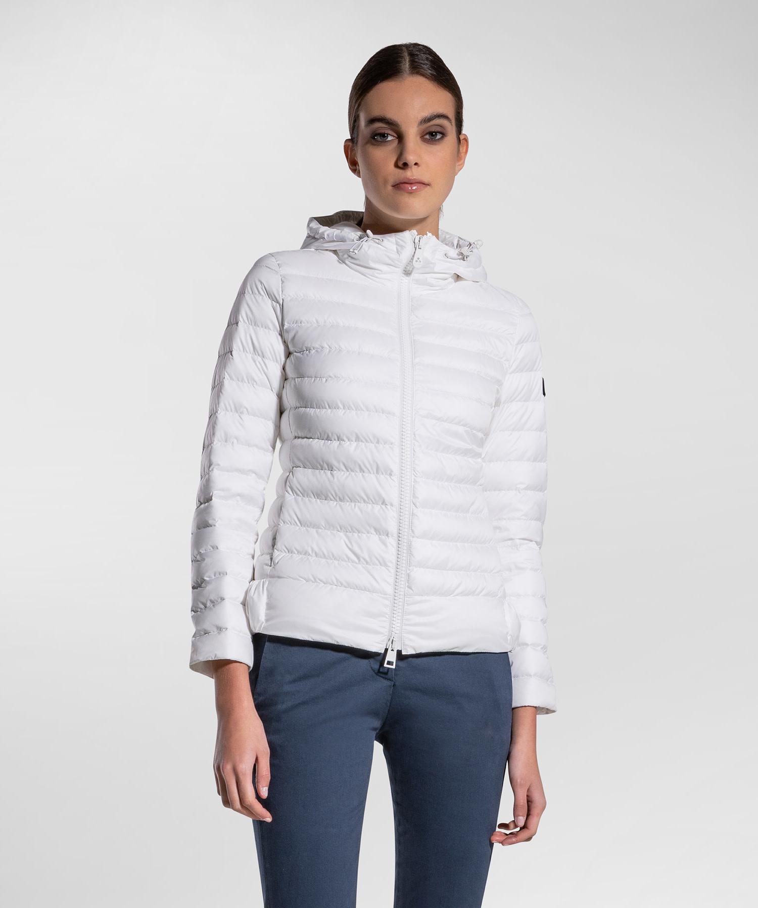 Down Jacket - White-1