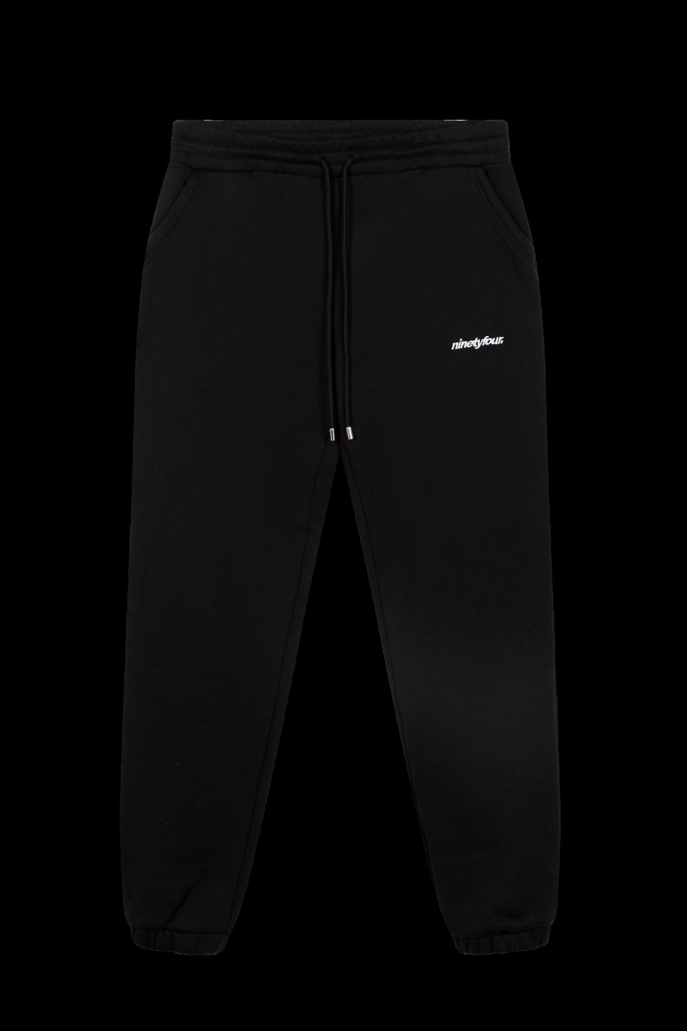 Warm Ups Jogger - Black-1