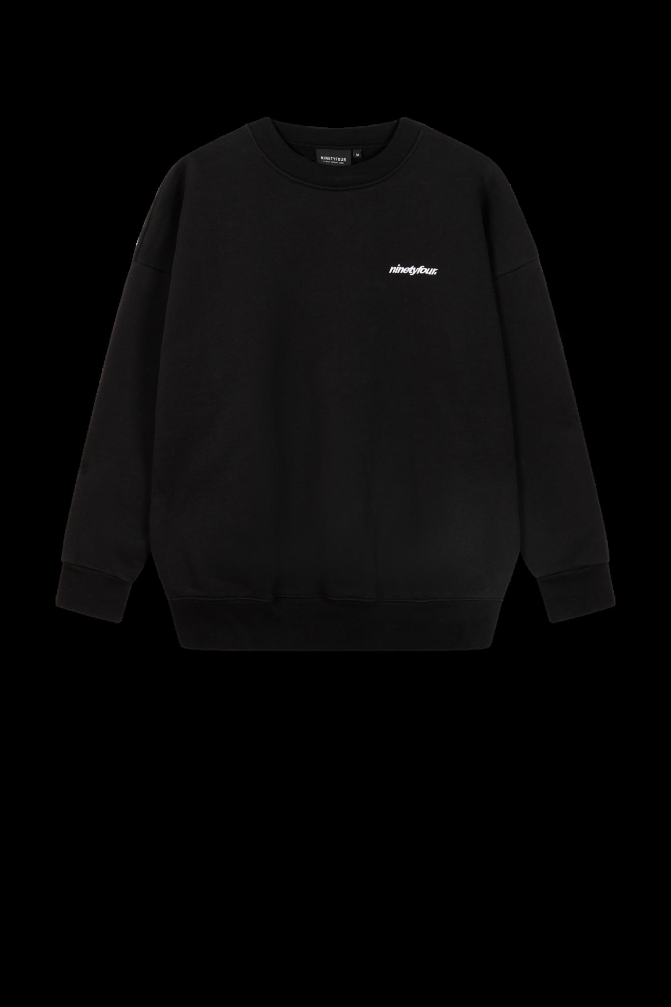 Warm Ups Sweater - Black-1