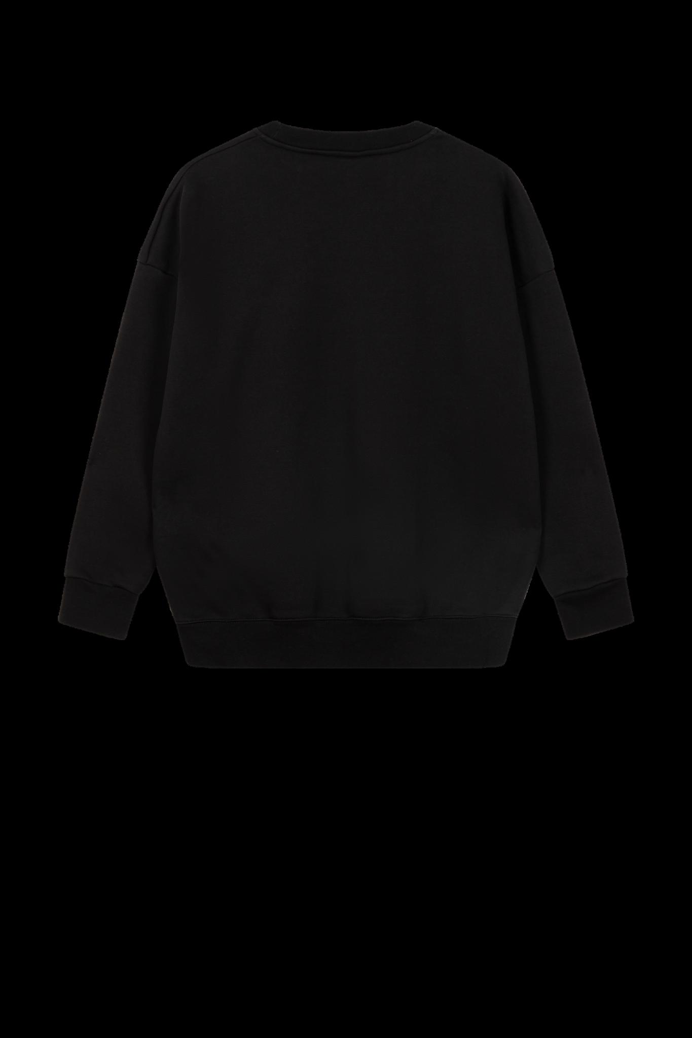 Warm Ups Sweater - Black-2