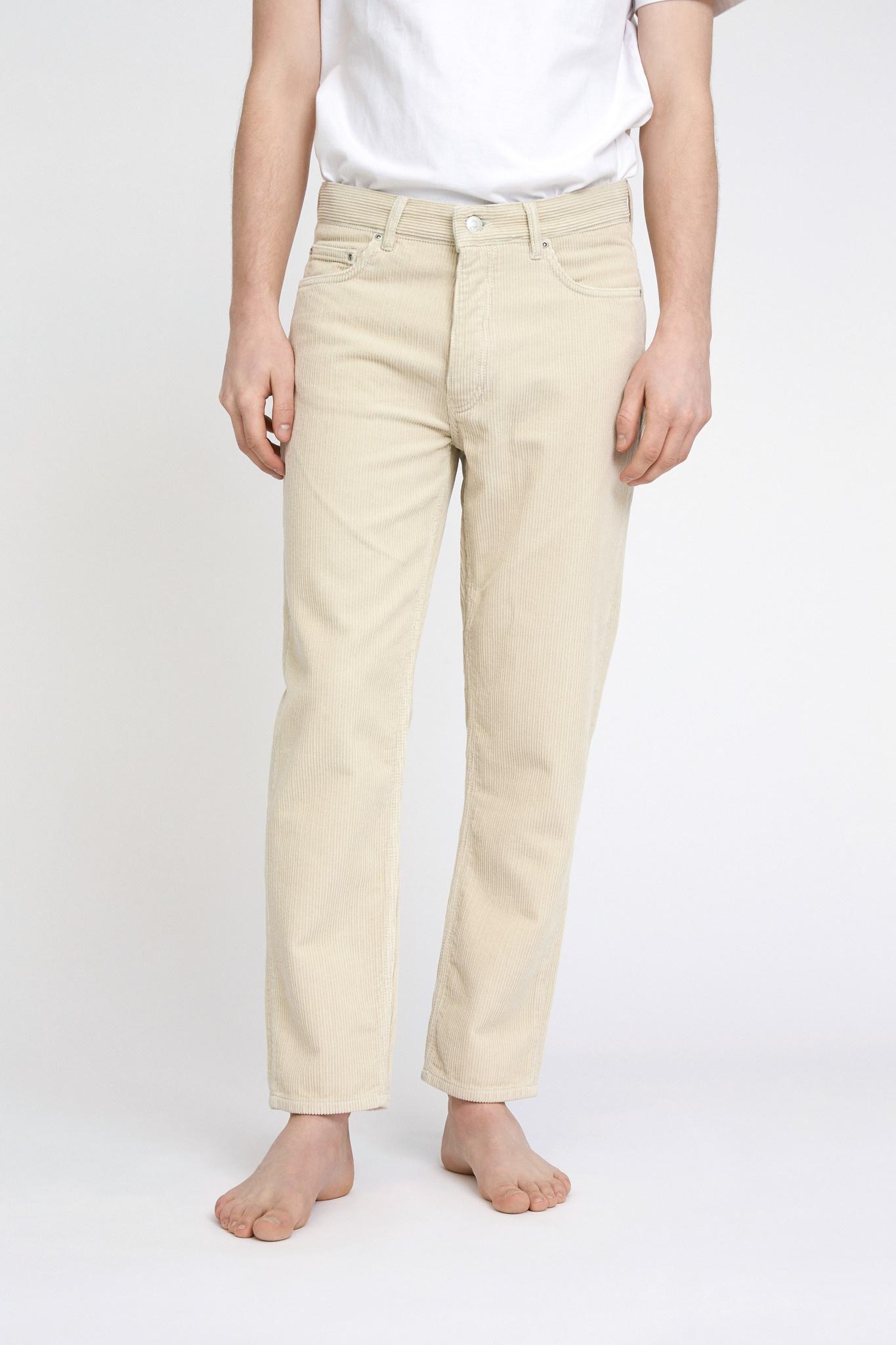 Ben Corduroy Jeans - Cream-1