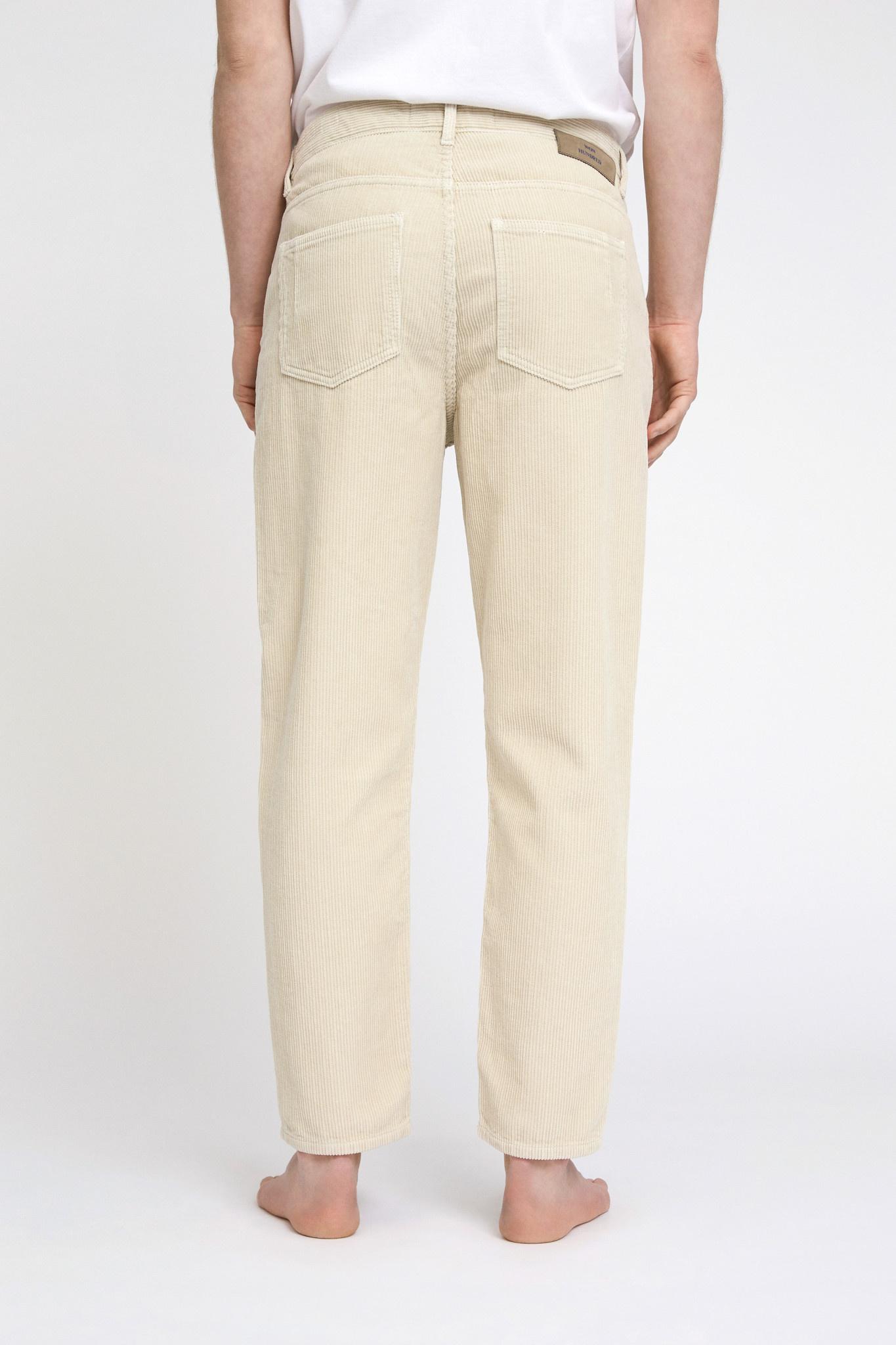 Ben Corduroy Jeans - Cream-2