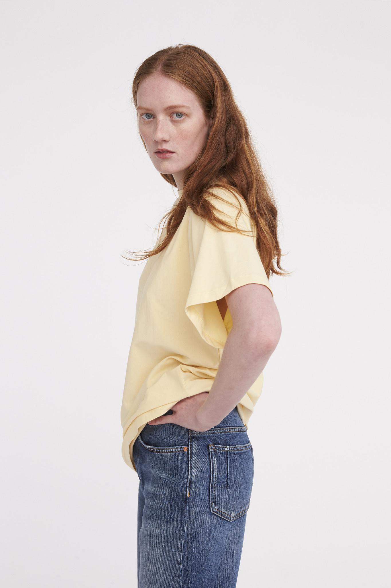Brooklyn T-shirt - Banana Crepe-1