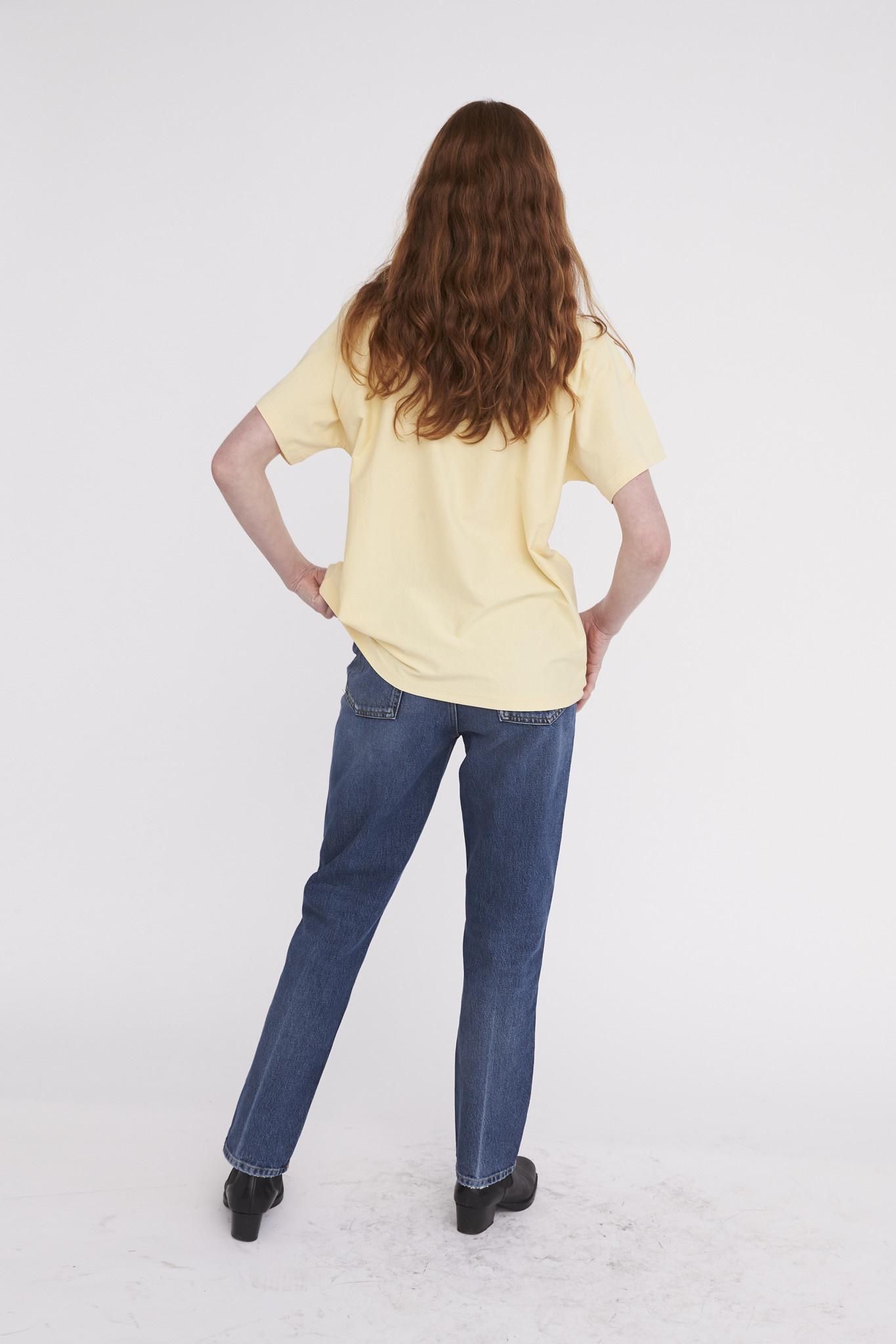 Brooklyn T-shirt - Banana Crepe-2