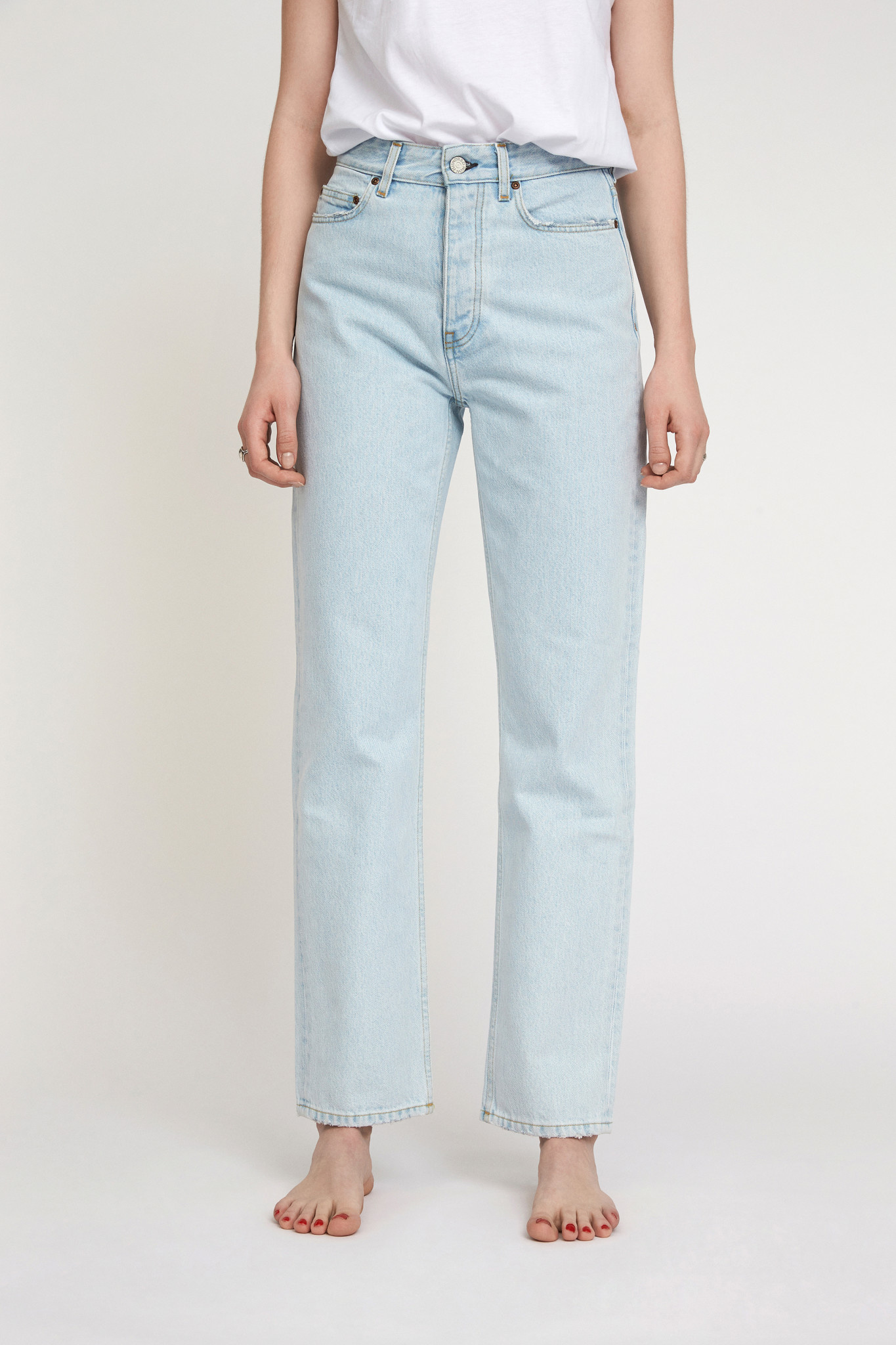 Pearl Jeans - Frost Blue-1
