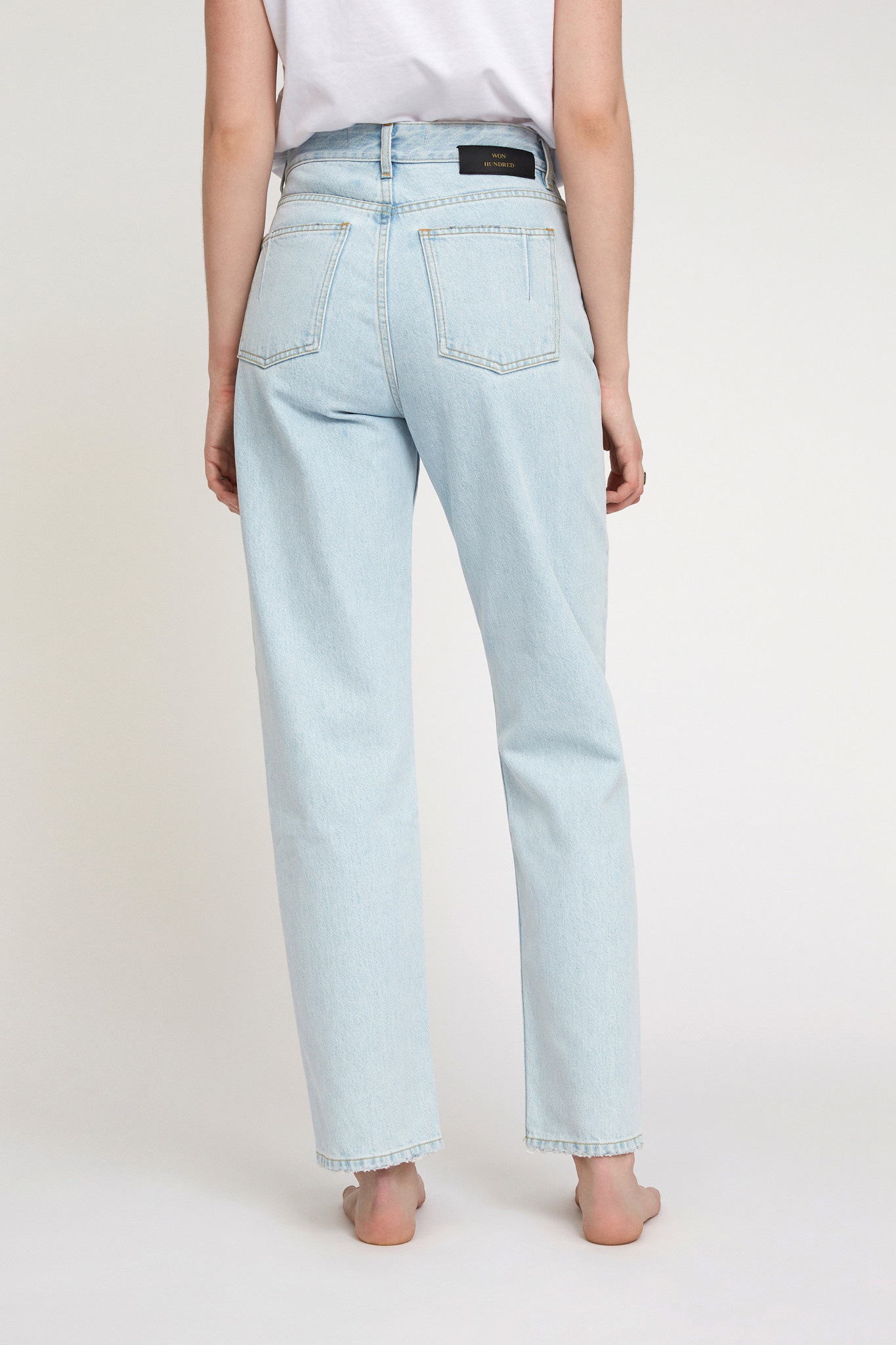Pearl Jeans - Frost Blue-2