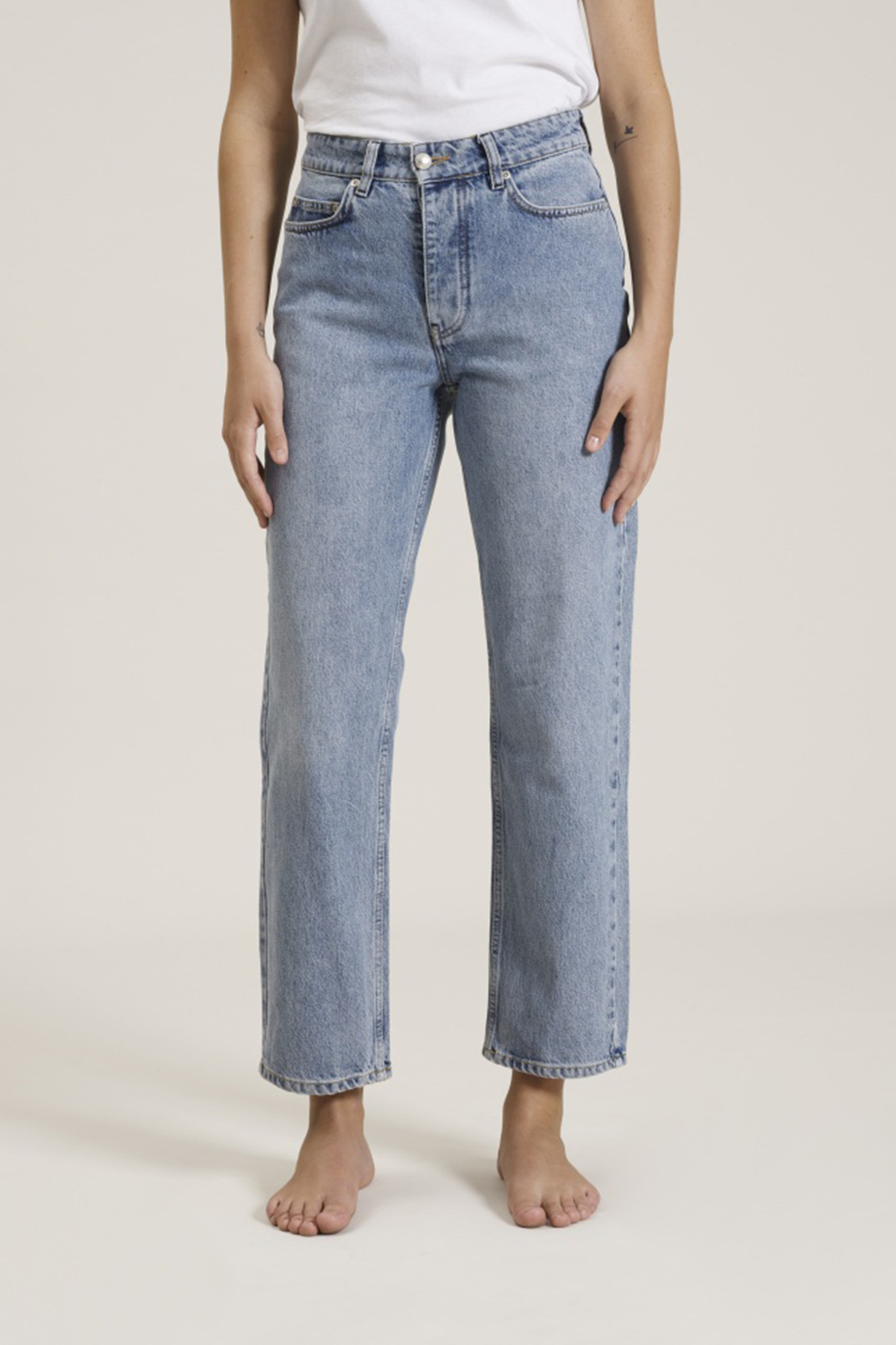 Pearl Jeans - Distressed Blue-1