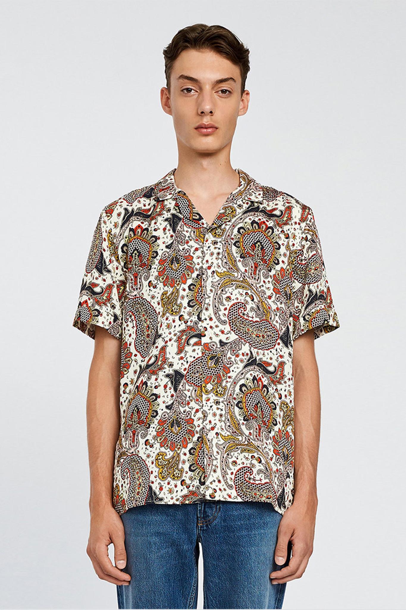 Kirby Shirt - Paisley-1