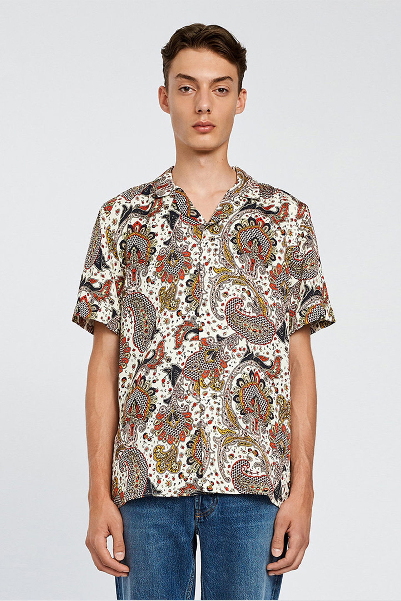 Kirby Shirt - Paisley-2