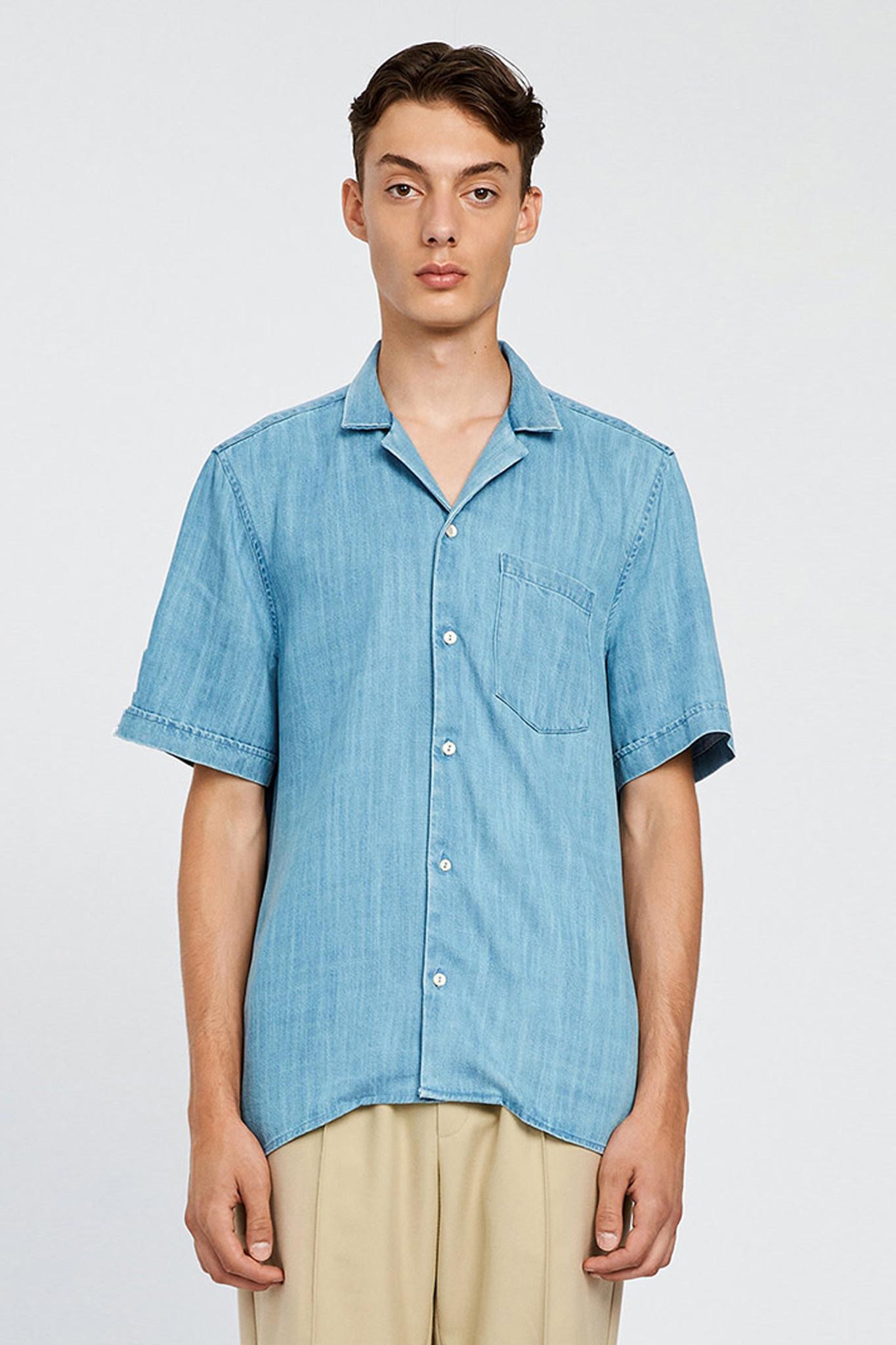 Kirby Pocket Shirt - Wash Three-1