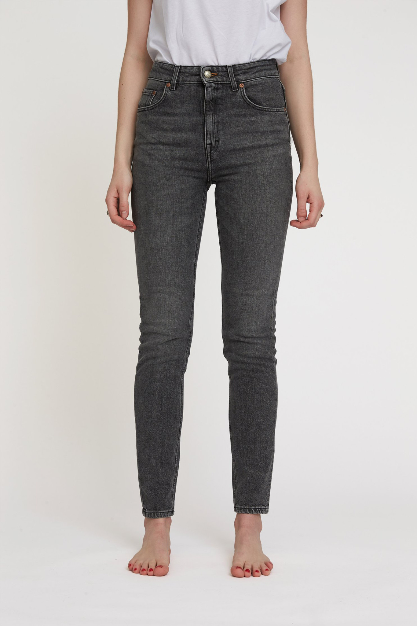 Marilyn B Jeans - Clean Black 8-1