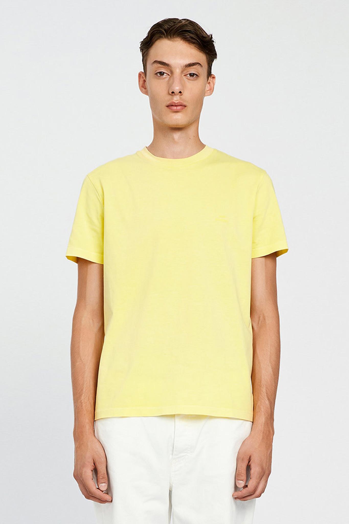 Troy Rubber T-shirt - Yellow Iris-1
