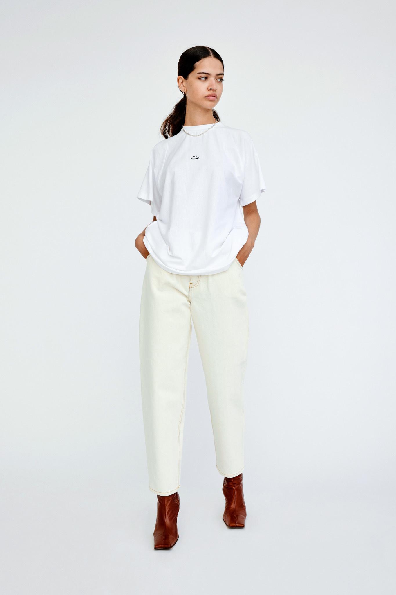 Brooklyn T-shirt - White-1