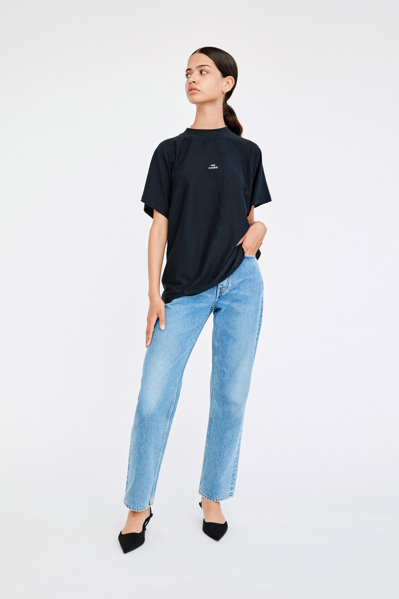 Brooklyn T-shirt - Black-1