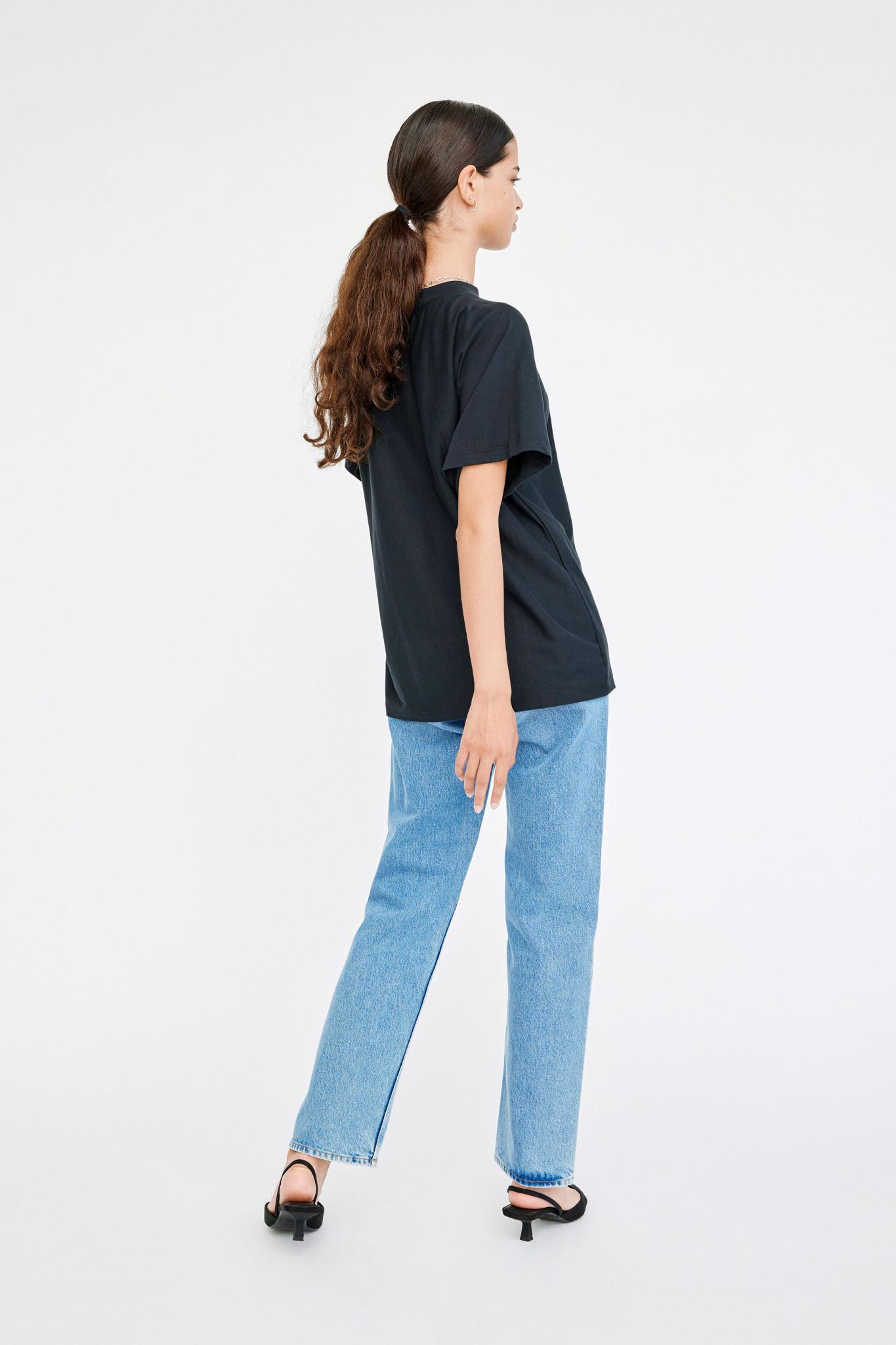 Brooklyn T-shirt - Black-2
