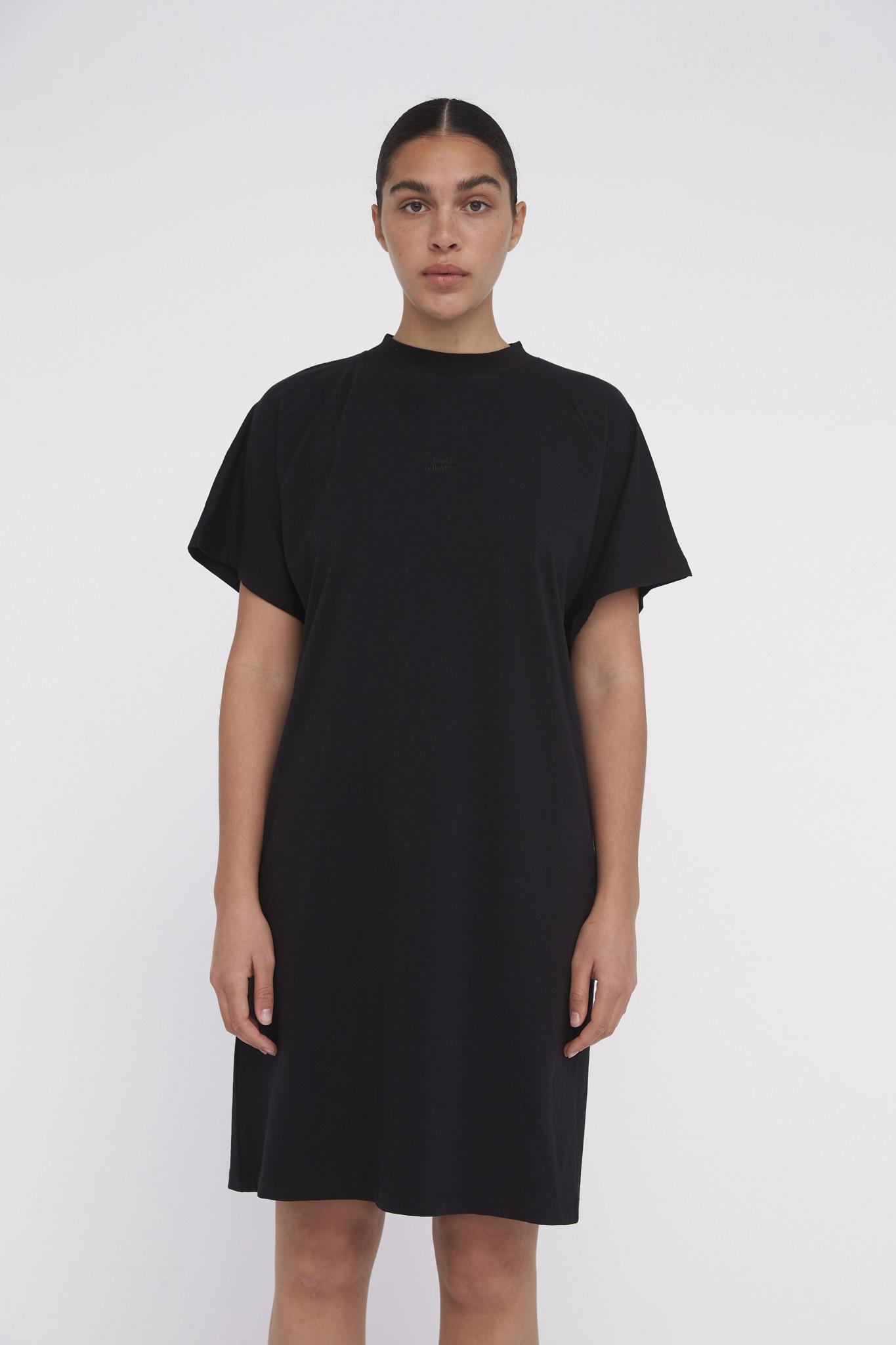 Brooklyn Logo Dress - Black-2