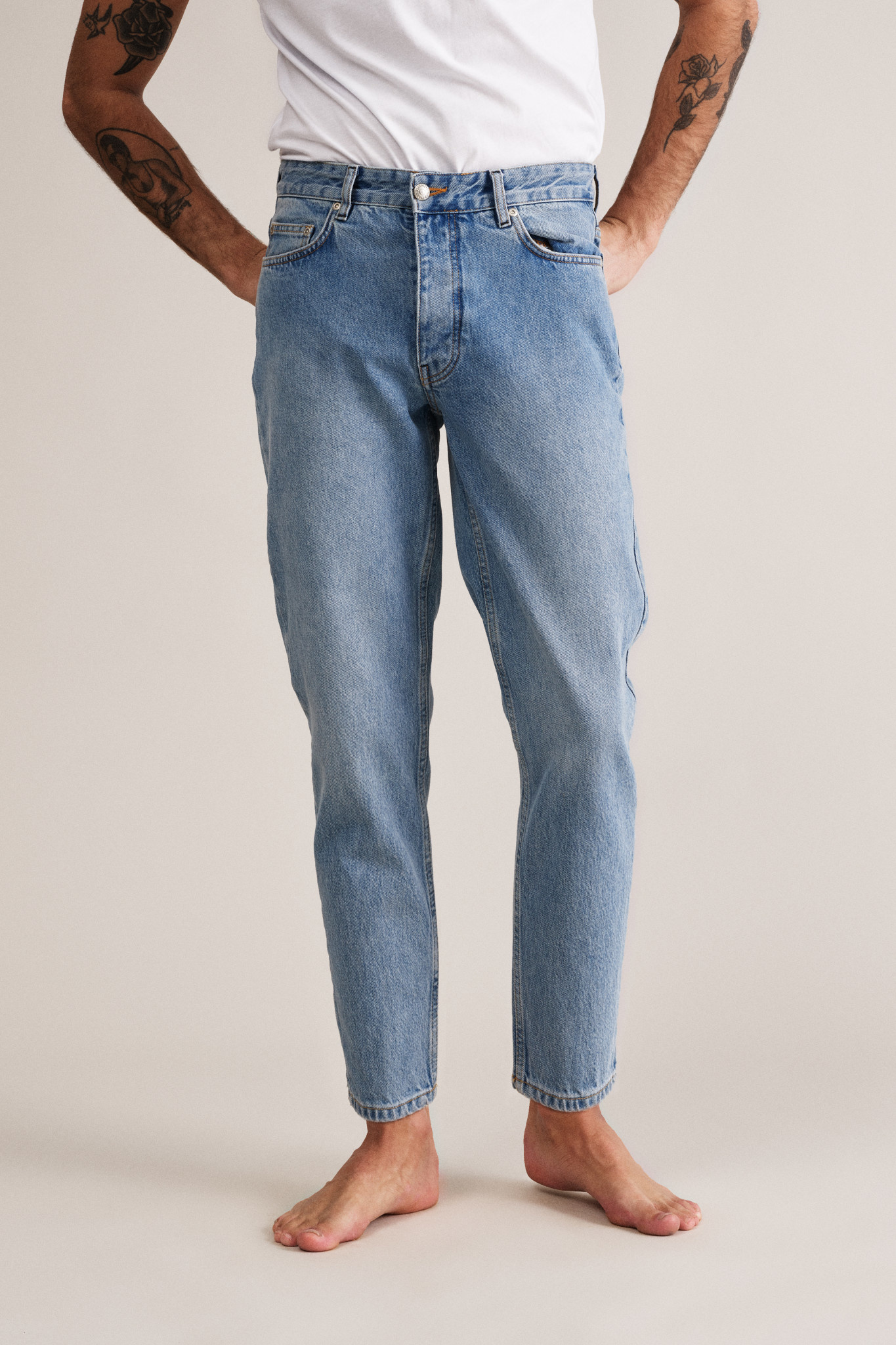 Ben Jeans - Distressed Blue-1