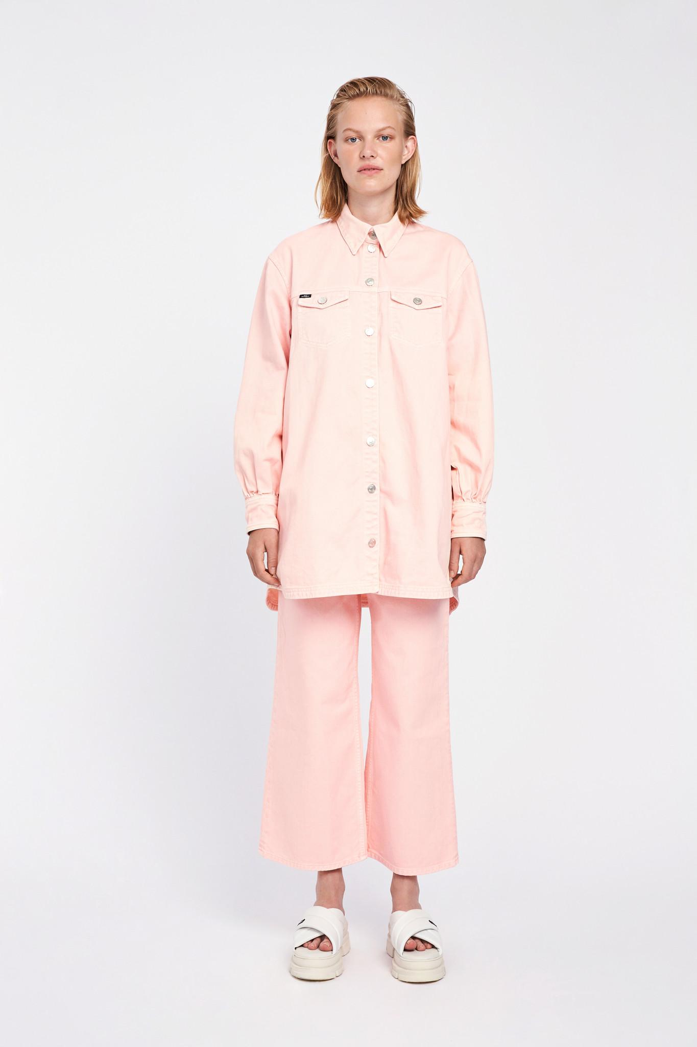 Nancy Denim Shirt - English Rose-1