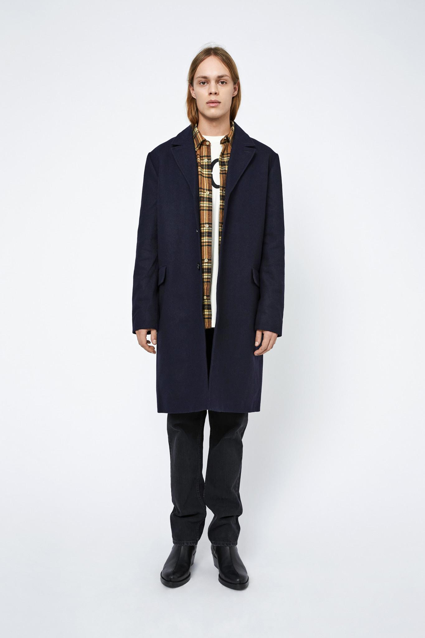 Julius Winter Coat - Black-1