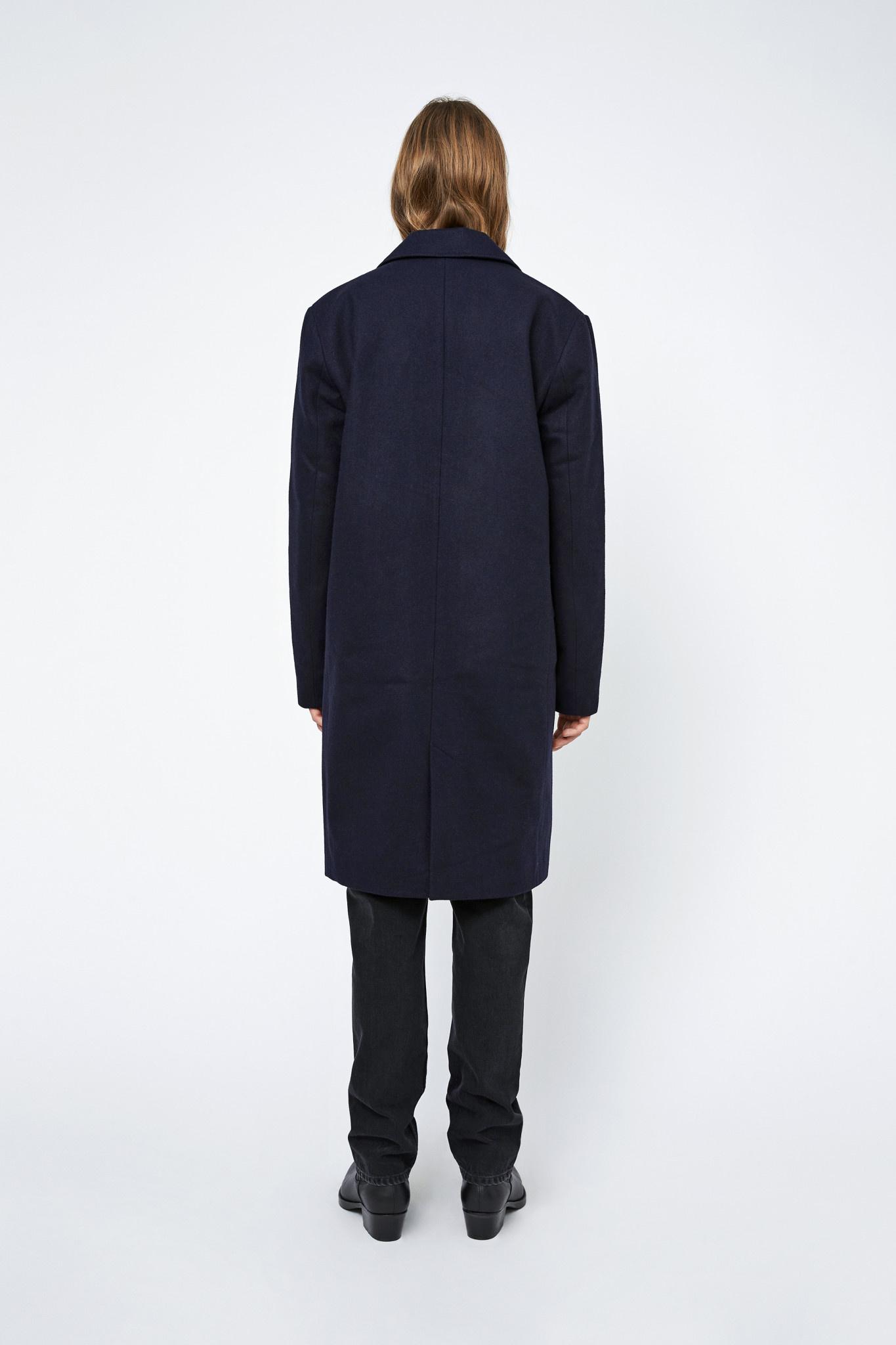 Julius Winter Coat - Black-2