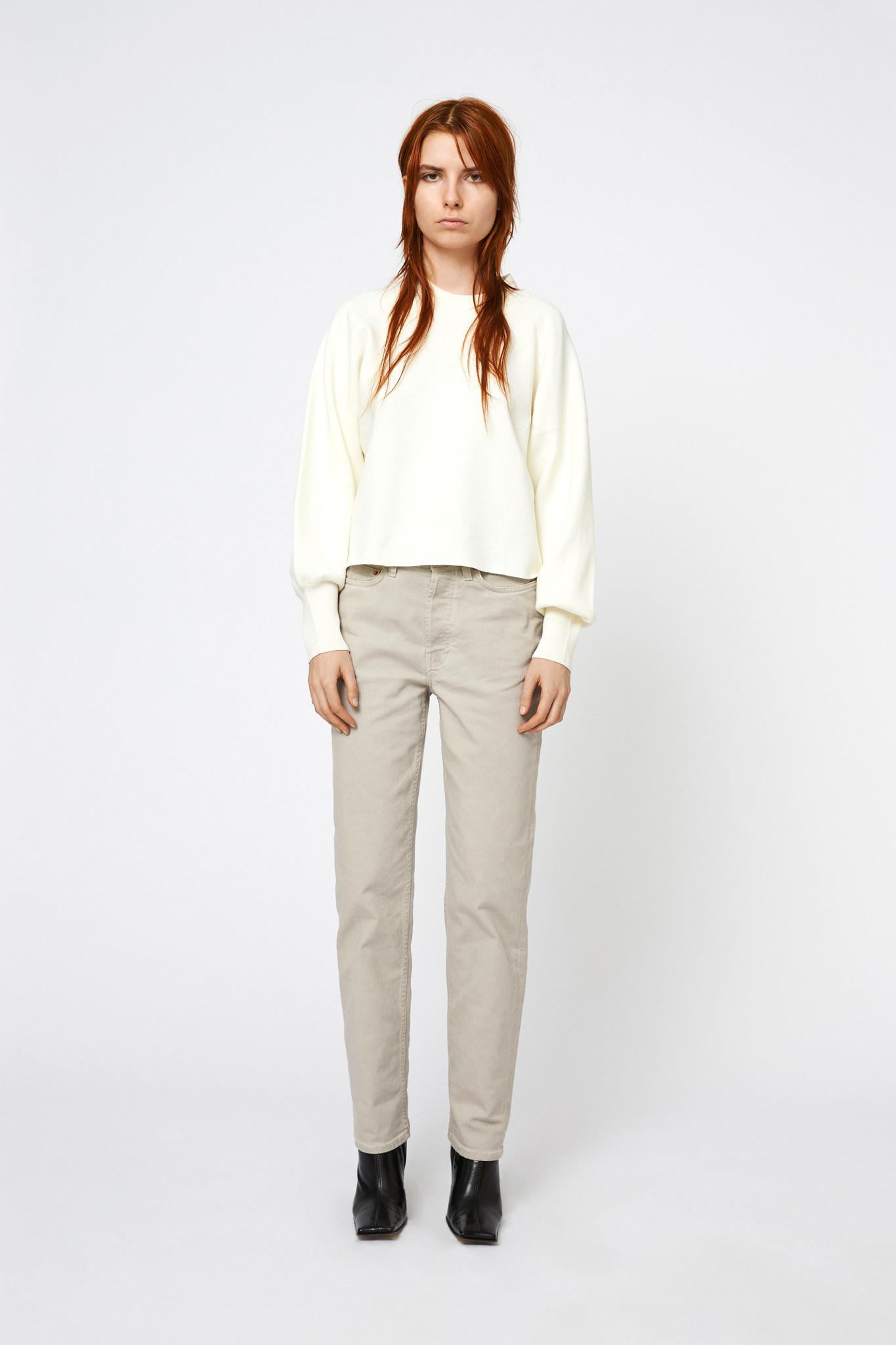 Eleanor Knit - Cannoli Cream-1
