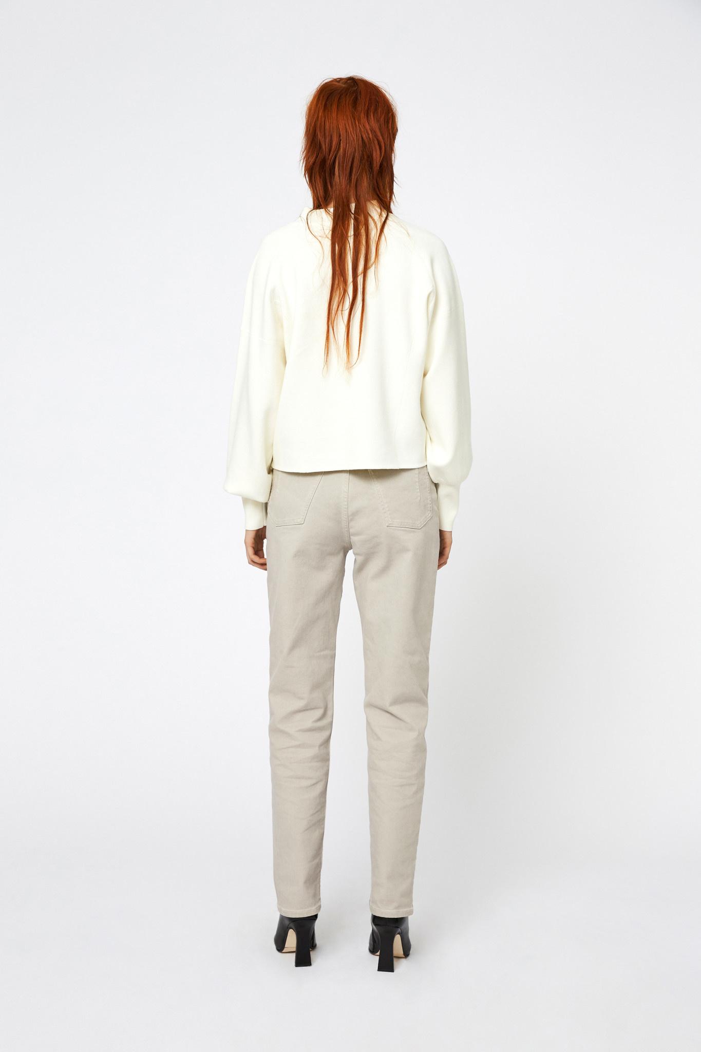 Eleanor Knit - Cannoli Cream-2