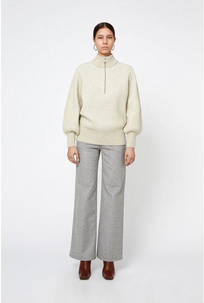 Delaney Merino Wool Longsleeve - Cream