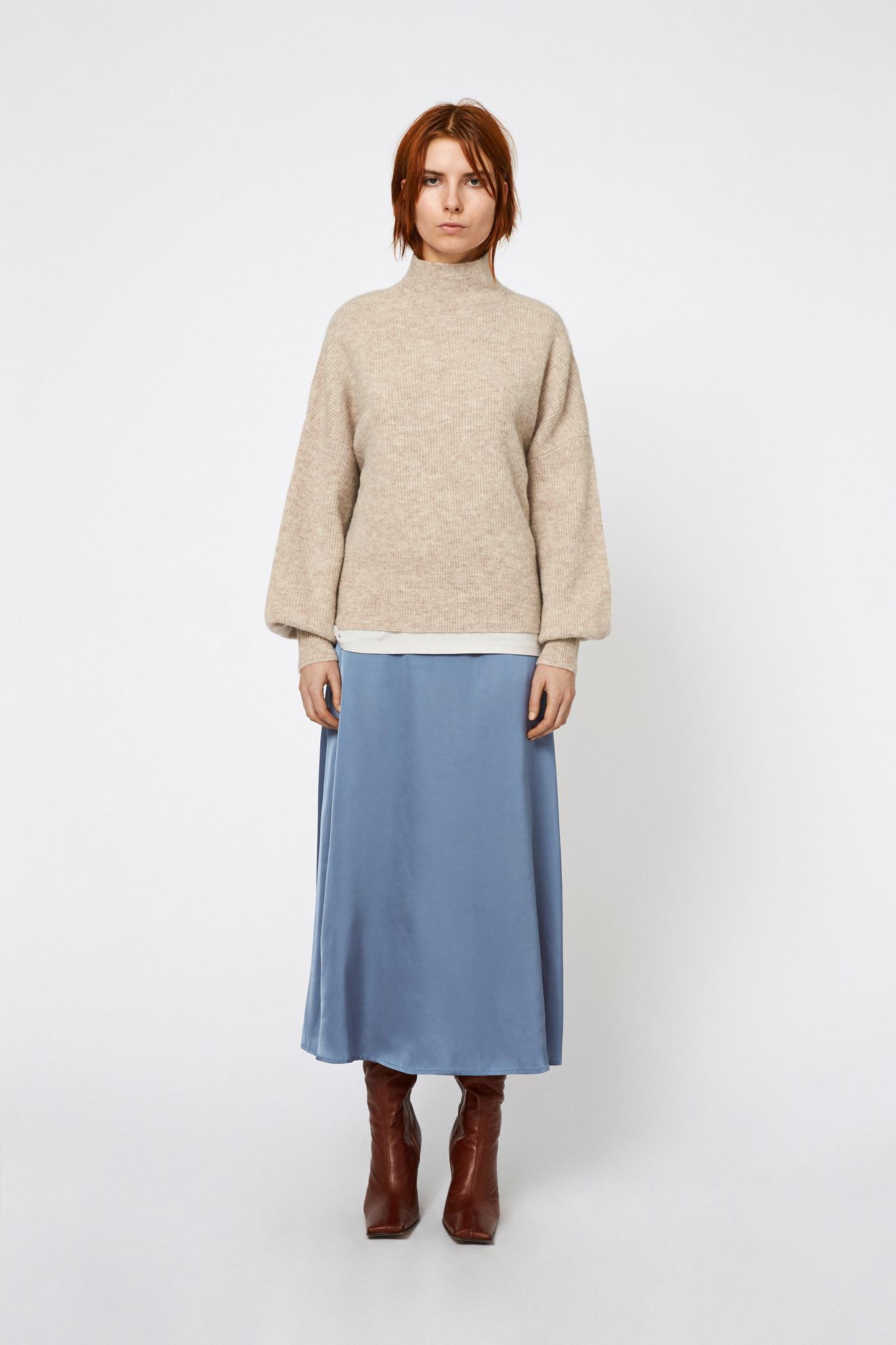 Blakely Knit - Almond-1