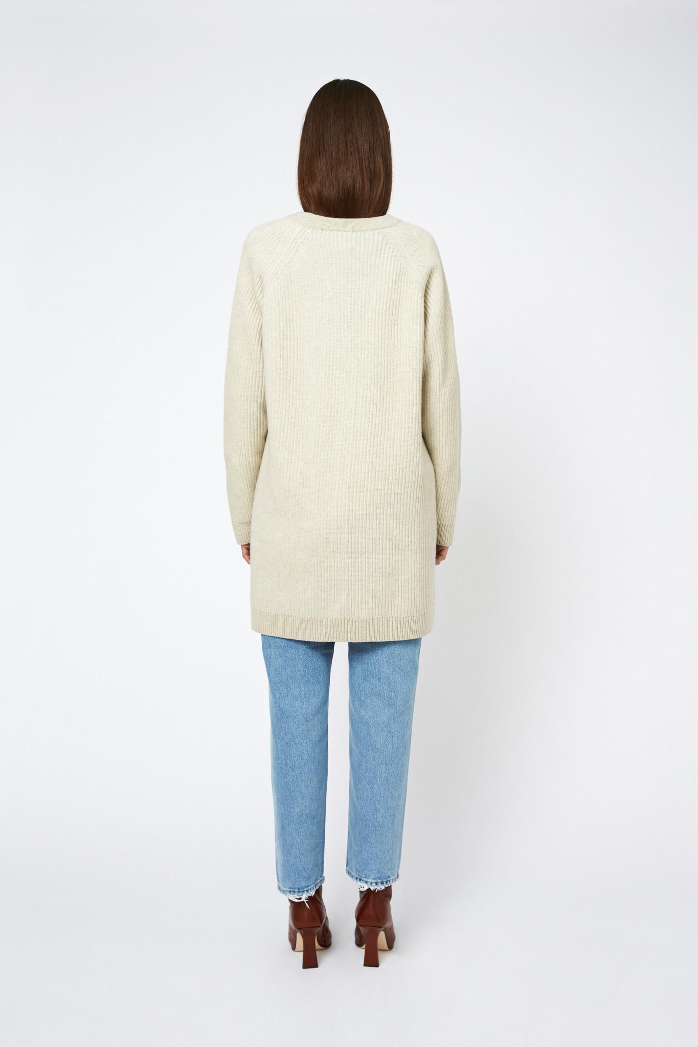Joanna Merino Wool Vest- Cream-2