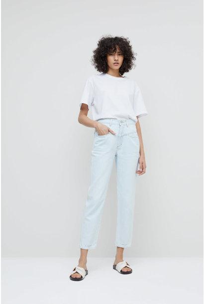 Pedal Pusher Jeans - Light Blue