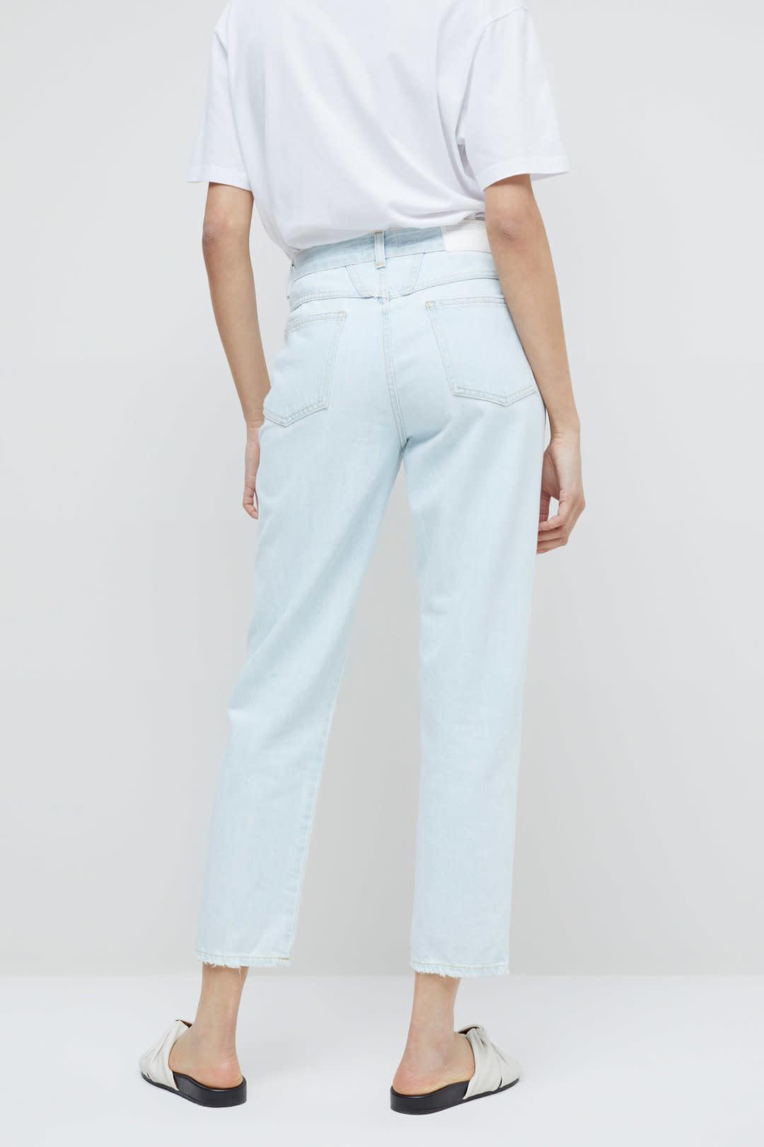Pedal Pusher Jeans - Light Blue-2