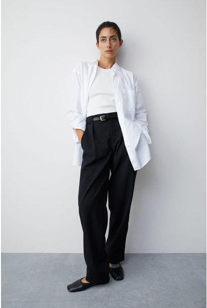 Mira Poplin Shirt - White