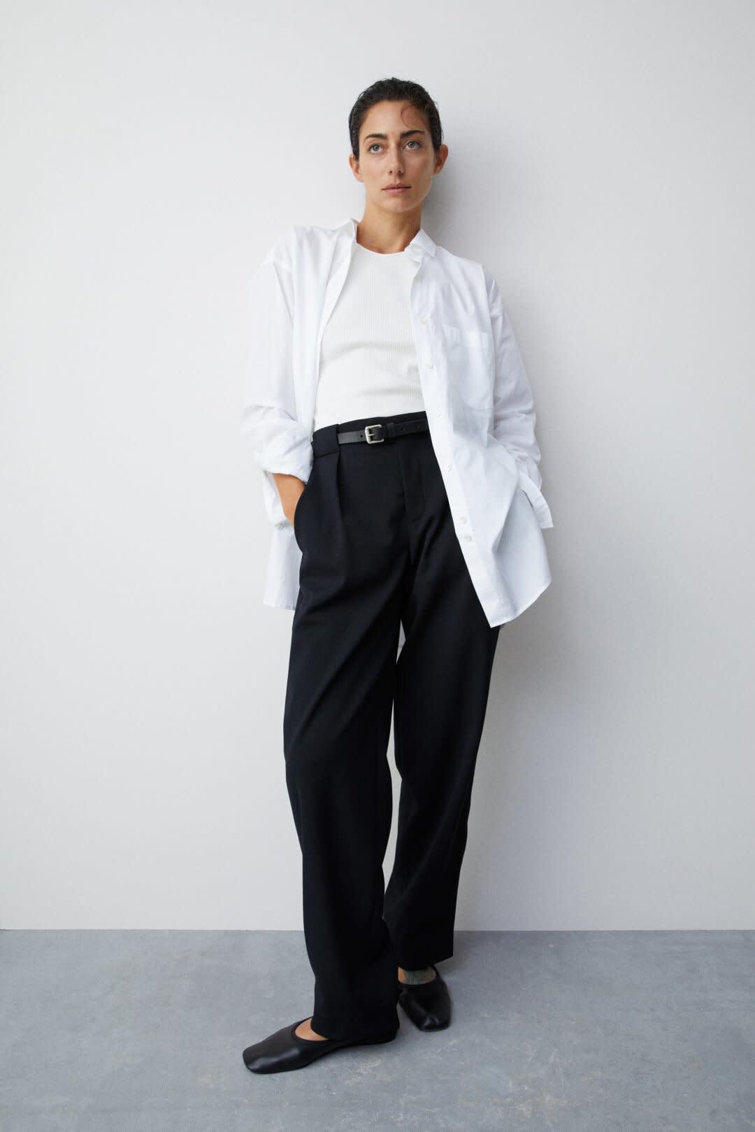 Mira Poplin Shirt - White-1