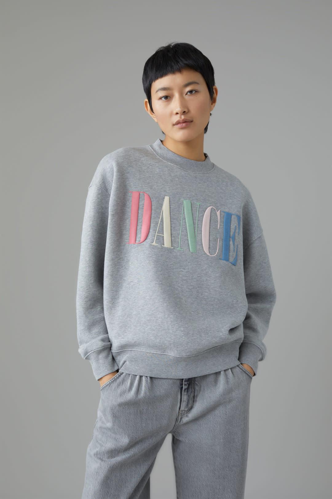 Dance Sweater - Grey-1