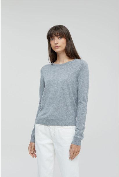 Cashmere Marino Knit - Grey