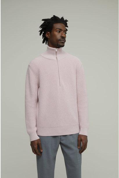 Zipped Jumper Unisex - Pink