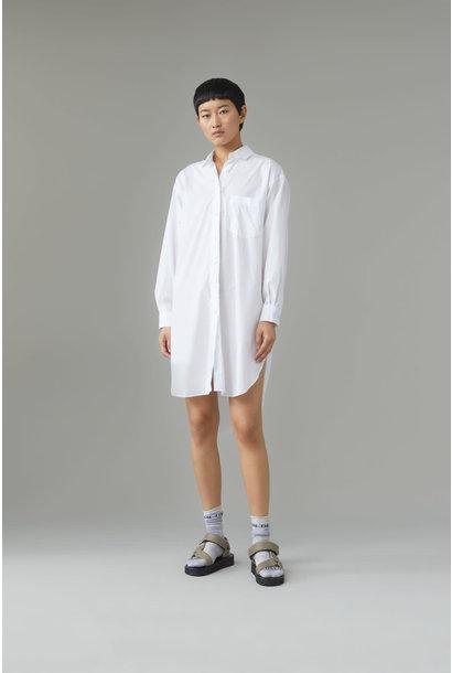 Jasmine Midi Dress - White