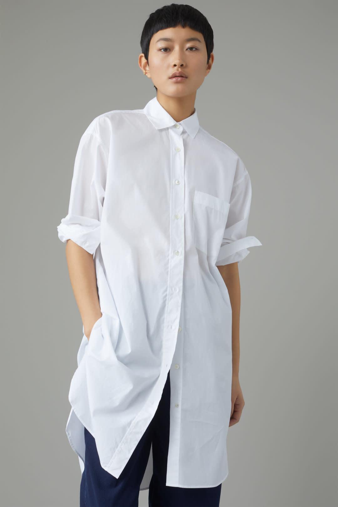 Jasmine Midi Dress - White-2