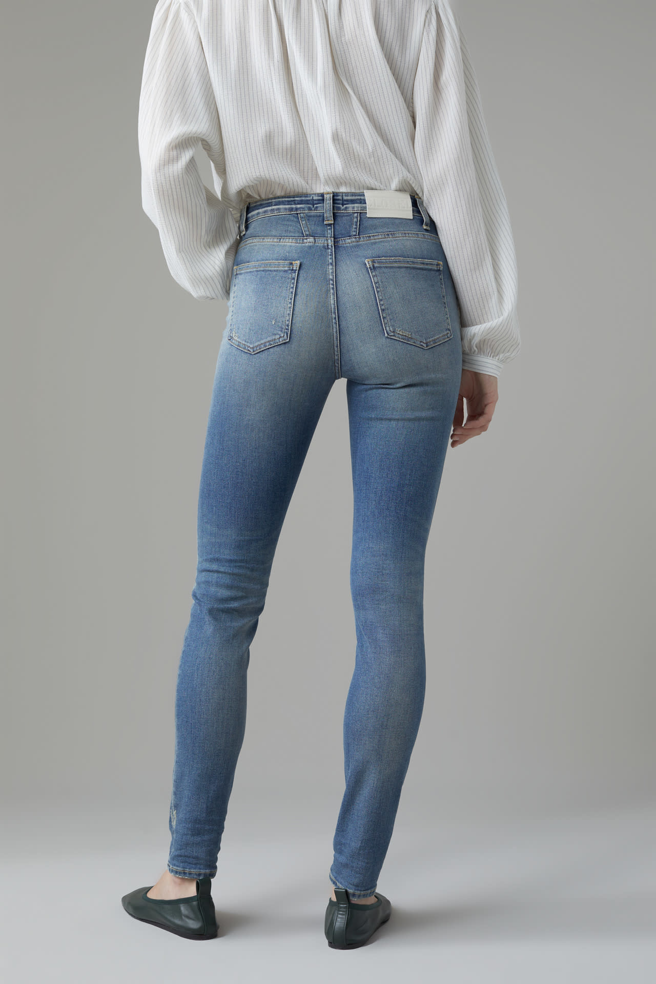 Lizzy Jeans - Organic Blue-2